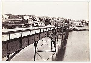 Clevedon Pier - The pier circa 1880