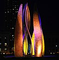 Cleveland LED Flame and Fountain of Eternal Life (9432612785).jpg
