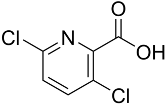 Clopyralid - Image: Clopyralid