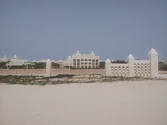 Boa Vista, Cape Verde - Karamboa Hotel in the west of Rabil