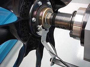 Hall effect sensor - Engine fan with Hall effect sensor