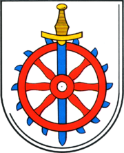 Coat of arms de-be weissensee 1987