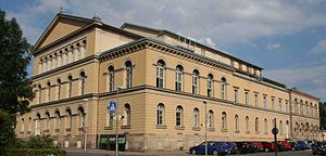 Landestheater Coburg - Side facade