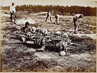Battle of Gaines's Mill - Image: Cold Harbor burial party