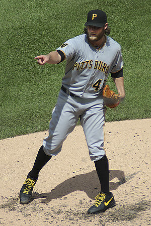 Gerrit Cole - Cole with the Pittsburgh Pirates