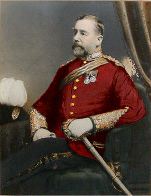 Bengal Engineer Group - Colonel Thomas Tupper Carter-Campbell of Possil (Lord Lieutenant and Justice of the Peace, Argyllshire) Esquire  Corps of Royal Bengal Engineers.