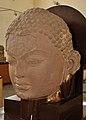 Colossal Head of Jina - Gupta Period - Kankali Mound - ACCN 00-B-61 - Government Museum - Mathura 2013-02-23 5455.JPG