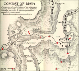 Battle of Maya - Combat of Maya by Charles Oman