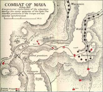 Battle of Maya - Combat of Maya by Charles Oman