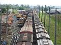 Comboios em cruzamento no pátio da Estação Ferroviária de Itu - Variante Boa Vista-Guaianã km 202 - panoramio (1).jpg
