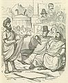 Comic History of Rome p 169 His Excellency Q Fabius offering Peace or War to the Carthaginian Senate.jpg