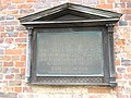 Commemorative plaque on Jane Austen's house, Chawton - geograph.org.uk - 937977.jpg