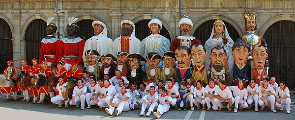 Comparsa De Gigantes Y Cabezudos De Pamplona Wikipedia La