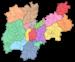 """Italiano: Mappa delle """"Comunità di valle&..."""