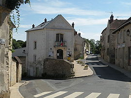 The town hall of Condécourt
