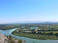 Confluence of the Rhone and Drome rivers 2.JPG