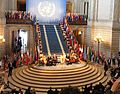 Congresswoman Pelosi celebrates the 70th Anniversary of the United Nations Charter (20498981448).jpg