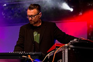 Conjure One - Rhys Fulber with Conjure One at the Nocturnal Culture Night festival in Germany, 2015