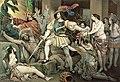 Conquest-of-mexico-hernando-cortes-1485-1547-opposed-to-human-sacrifice-colour-litho-nicholas-eustache-maurin (fineartamerica).jpg