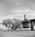 Consolidated Liberator - Fayid - Royal Air Force- Operations in North Africa, 1939-1943. CBM1261.jpg