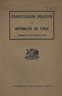 Resultado de imagen para constitución de 1925 chile