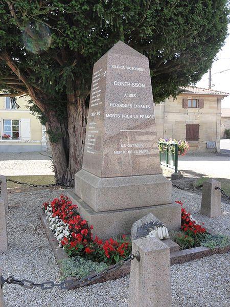 Contrisson (Meuse) monument aux morts