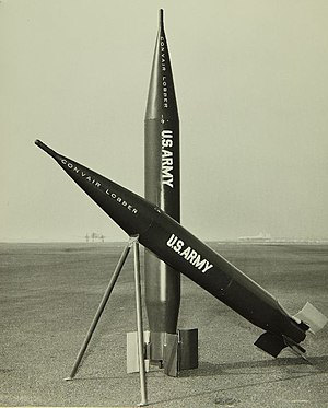 Lobber - Image: Convair Lobber missiles