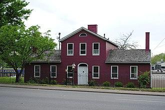 Cook House (Parkersburg, West Virginia) - Image: Cook House in Parkersburg WV