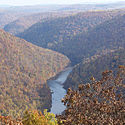 Thumbnail image of Cheat River at Coopers Rock State Forest