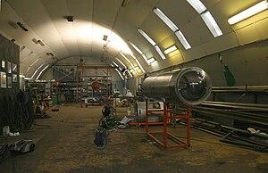 Copenhagen Suborbitals - Interior of the HAB building