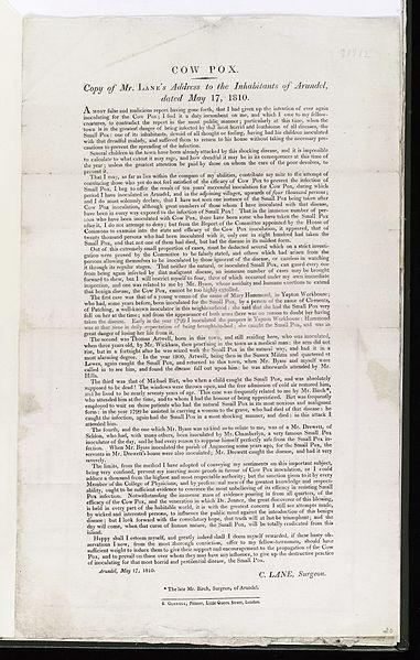 File:Copy; Mr. Lane's address to the inhabitants of Arundel Wellcome L0040307.jpg