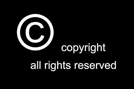 Copyright- all rights reserved