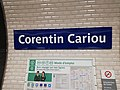 Corentin Cariou Plaque signalétique 01 2019.jpg