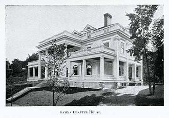 Phi Sigma Kappa - Image: Cornell Chapter (Gamma) of Phi Sigma Kappa, ca 1910