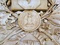 Corpo di Guardia, dettaglio medaglione lapide commemorativa Domenico Piva (Rovigo).JPG