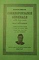 Correspondance Générale de Sainte-Beuve, Couverture du tome 19.jpg