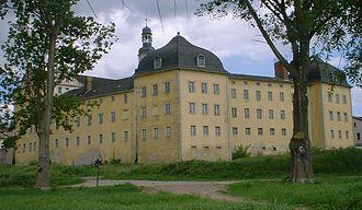 Coswig, Anhalt - Castle