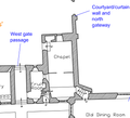 Cotehele House Chapel plan.png