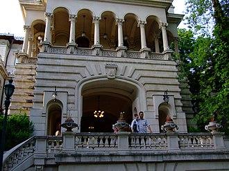 Cotroceni Palace - Image: Cotroceni Palace Garden Bucharest 07
