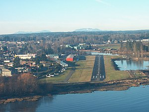 Courtenay, British Columbia - Landing at Courtenay Airpark