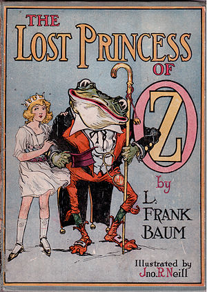 The Lost Princess of Oz - 1st edition cover of The Lost Princess of Oz