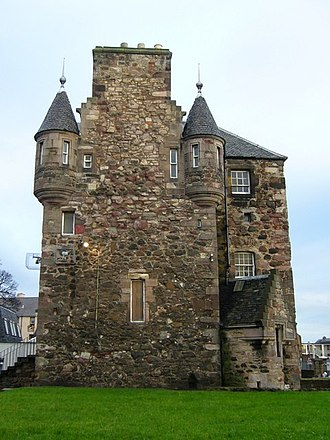 Craigentinny - Image: Craigentinny House, west gable geograph.org.uk 1607012