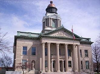 Crawford County, Ohio - Image: Crawford County Ohio Courthouse 2