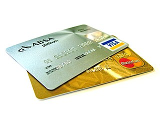 Credit card card for financial transactions from a line of credit