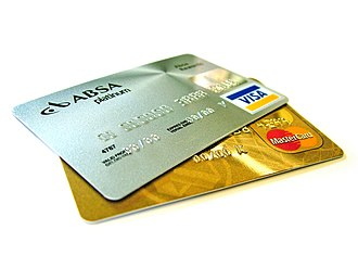 Credit card - Visa and MasterCard are the two most prominent payment processors for credit cards.