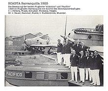 """Tripulación Dornier Do J Wal """"Pacífico"""" y """"Atlántico"""""""