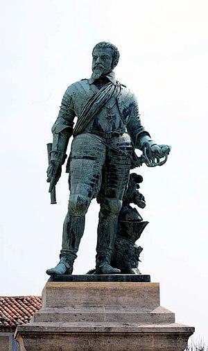Louis des Balbes de Berton de Crillon - Statue of Louis at Crillon-le-Brave