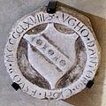 Cripta di san lorenzo (salone donatello), stemma ciofi.JPG