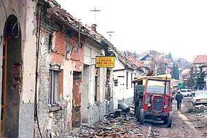 Pyrrhic victory - Image: Croatian War 1991 Vukovar street