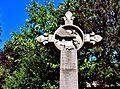 Croix ancienne devant le Cimetière . (1).jpg